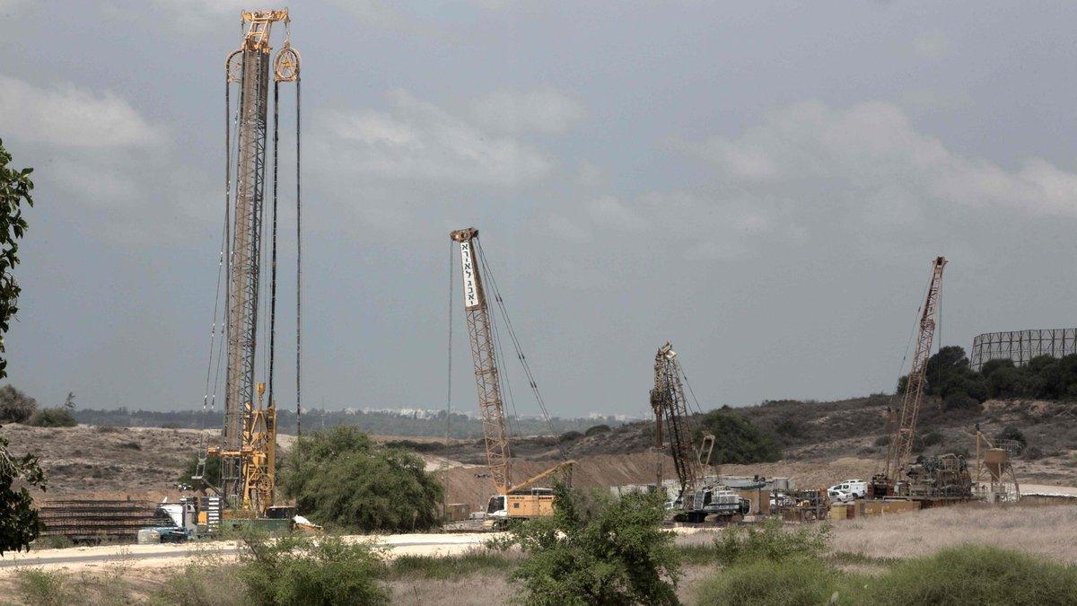 Israel baut unterirdische Mauer um Gazastreifen | kurier.at