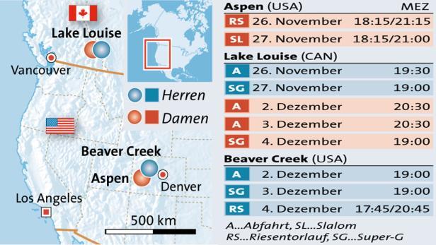 Zielrichtung Tal: Klaus Kröll kennt den Weg zum Podest, in Lake Louise war der Steirer aber noch nie besser als Fünfter (2008).