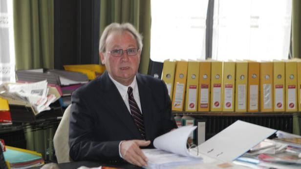 Präsidenten des Rechnungshofes: Josef Moser (li.) folgte im Juni 2004 auf Franz Fiedler – beide hatten die BUWOG-Prüfung zu verantworten
