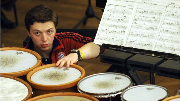 Martin Grubinger (28) zeigte am Freitag im Konzerthaus eine Leistungsschau seines Könnens.