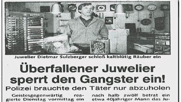 Opfer Dietmar Sulzberger wurde mit einem Elektroschocker attackiert