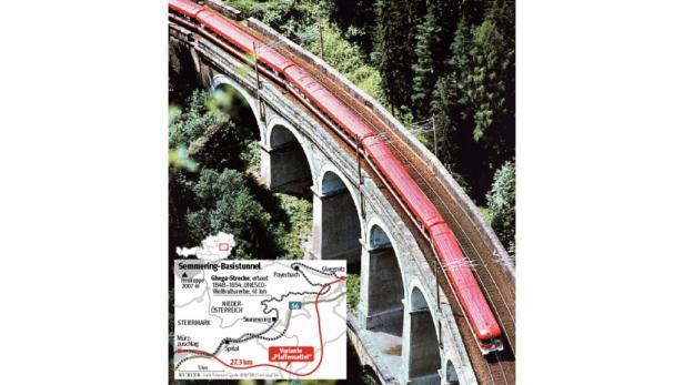 Dass der Bau des Semmering-Basistunnels noch verhindert wird, gilt als unwahrscheinlich.