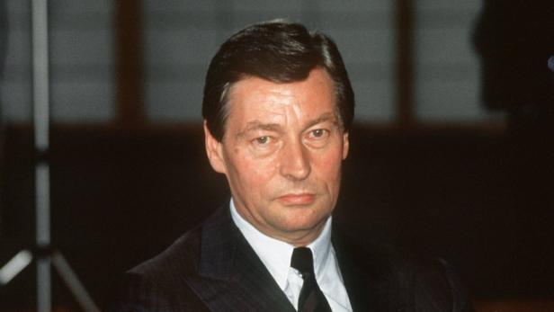 Von der RAF ermordet: Alfred Herrhausen.