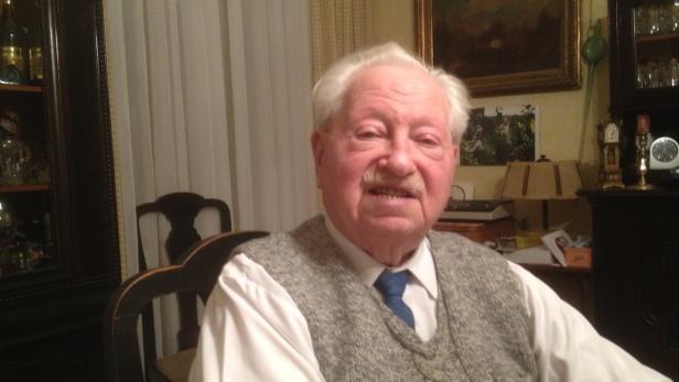 Der Wiener Erich Richard Finsches zählt zu den wenigen Überlebenden des Todeslagers.