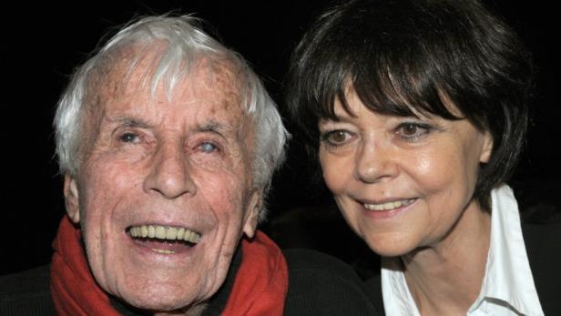 Wurde 108 Jahre alt: Heesters mit seiner zweiten Frau Simone