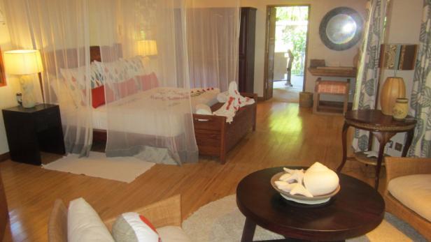Stil und Beschaulichkeit bietet das Insel-Hotel-Resort mit geräumigen, komfortabel eingerichteten Zimmern ...