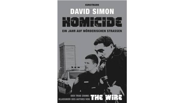 """David Simon: """"Homicide"""" Übersetzt von B. Steckhan, T. Wollermann und G. Gockel. Kunstmann. 25,60 €."""