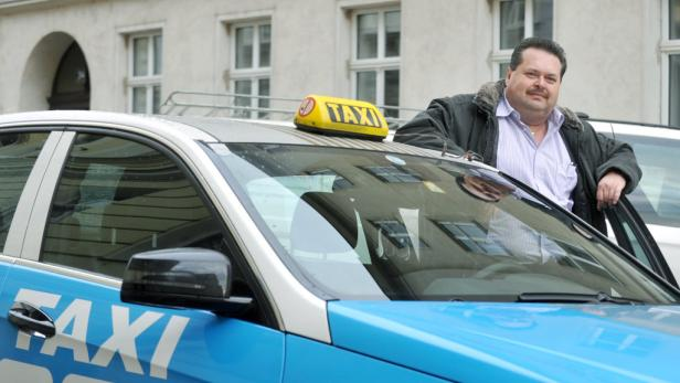 Taxi-Fahrer Gerald Grobfeld