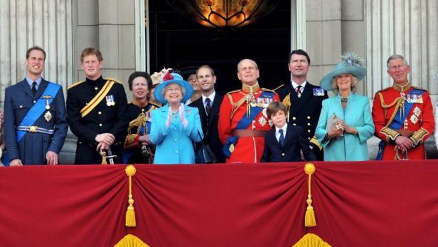 Weihnachten mit der Royal Family - vielleicht klappt es ja noch.