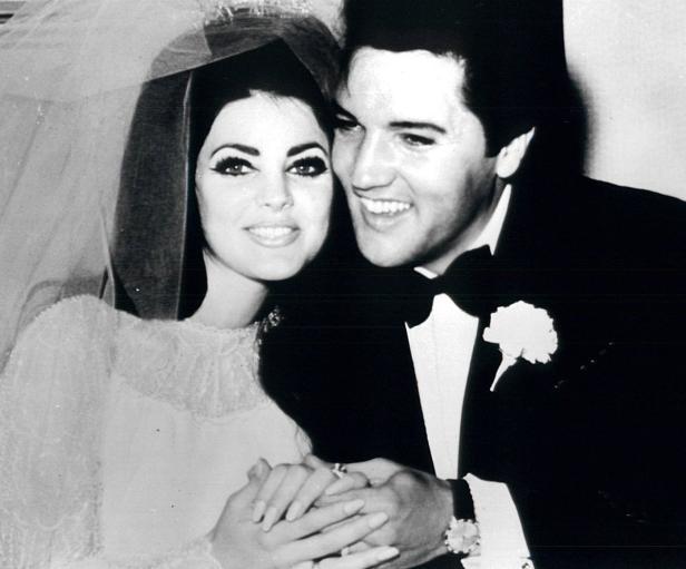 ELVIS AND PRISCILLA PRESLEY IN 1967 FILE PHOTO