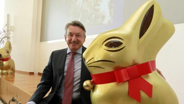 Der Sieger: Ernst Tanner, Chef von Lindt & Sprüngli