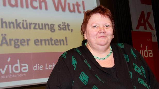 Gewerkschafterin Sonja Reitinger