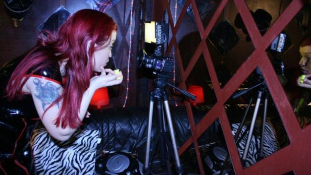 Berufsalltag: Vanessa war auch am Schnitt der Doku beteiligt.