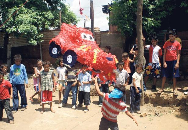 Fiesta auf der Müllha