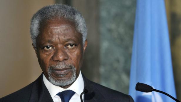 UN-Verhandler Kofi Annan
