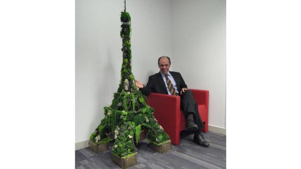 Grün-Projekt: Die hängenden Gärten von Paris