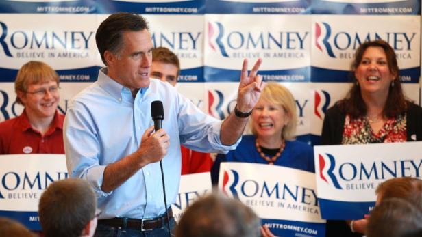 Mitt Romney hat drei Vorwahlen für sich entschieden.