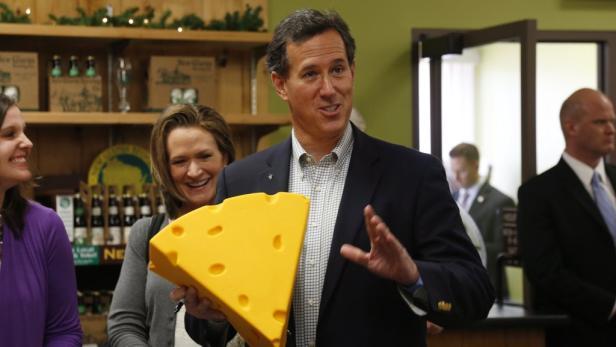 Rick Santorum kann eigentlich nur mehr auf eine Kampfkandidatur hoffen.