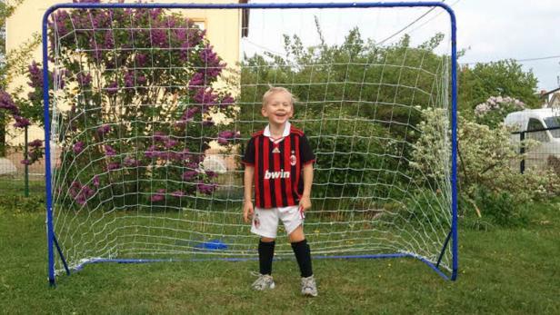 Der fünfjährige Oliver