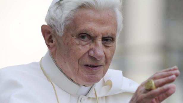 Papst Benedikt zeigte sich sichtlich verärgert durch den österreichischen Vorstoß.