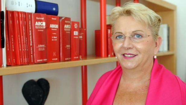 Anwältin Andrea Wukovits ist auf Familienrecht spezialisiert