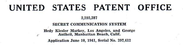 Unter Hedy Kiesler reichte sie Patente ein