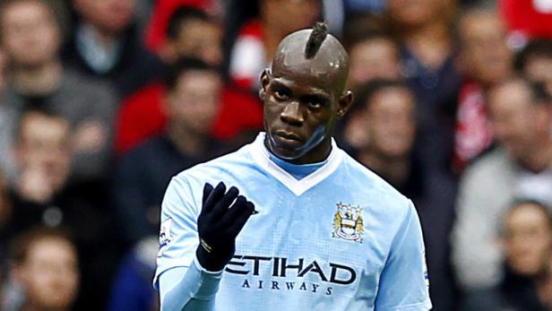 Balotellis Zeit bei Manchester City scheint abgelaufen.