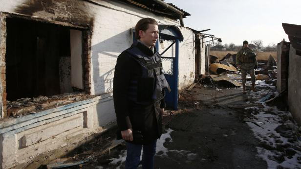 OSZE: BM KURZ IN DER UKRAINE
