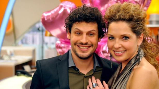Das Paar der letzten Staffel: Luca (Manuel Cortez) und Nina (Maria Wedig) erleben heute ihr großes Happy End.