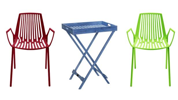 Die Zeit der Stühle und Tische aus weißem Plastik gehört der Vergangenheit an: Viele Hersteller setzen auf Farbe und durchdachtes Design, wie diese Modelle von Weißhäupl zeigen. Es gibt für jedes Budget – und jeden Geschmack – eine passende Lös