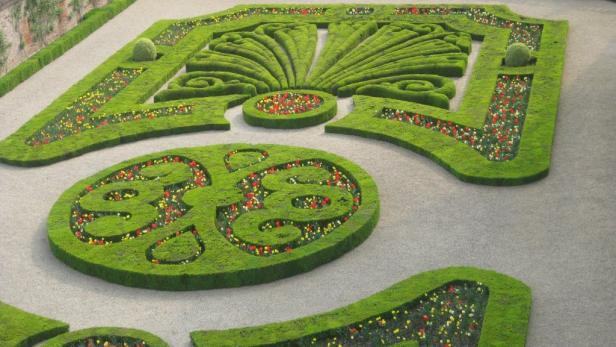 Prachtgarten in Albi