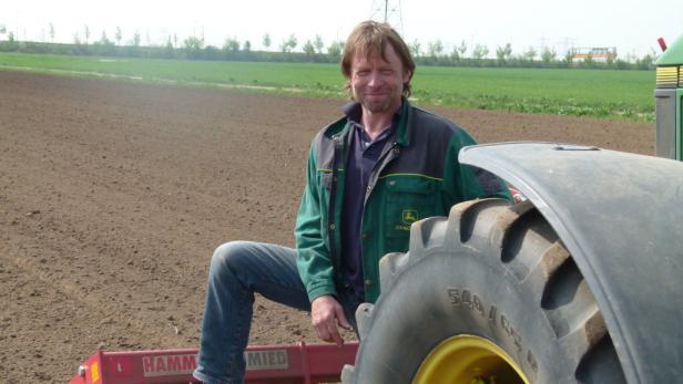 Bio-Bauer: Berger arbeitet lieber mit der Natur als dagegen