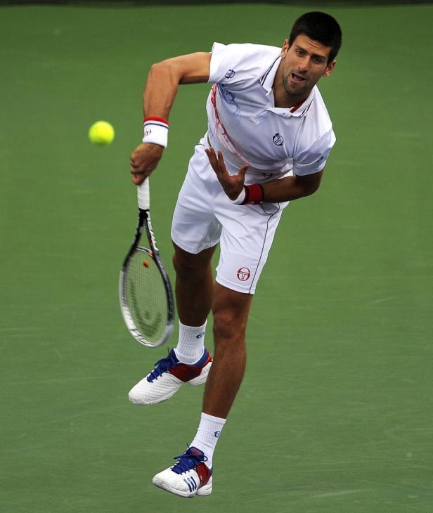Nummer eins: Novak Djokovic schlägt ab Freitag in Indian Wells auf