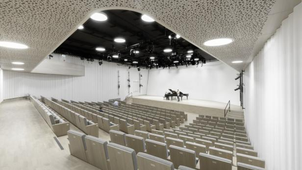 Das Architekturbüro1 entwickete ästhetisch und klanglich gelungene Lösungen