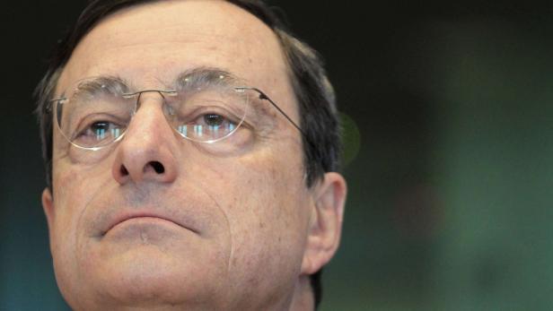 """Mario Draghi: """"Die Behauptung, wir wollten Sparer enteignen, ist völlig falsch"""""""