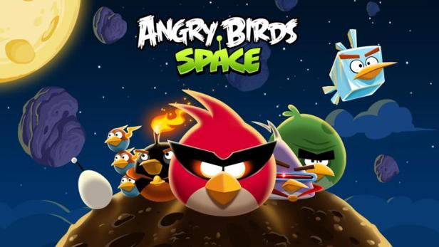 Angry Birds Space Promotionposter.
