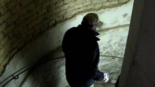 In diesem Keller wurden Suchtmittel vor der Polizei versteckt