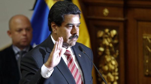 Vereidigt: Nicolás Maduro