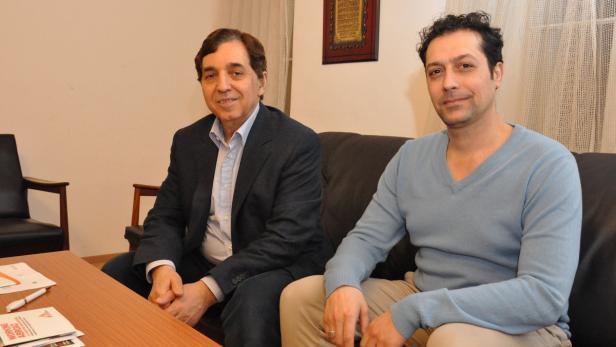 Die syrischen Ärzte Tammam Kelani und Fisal Houmad