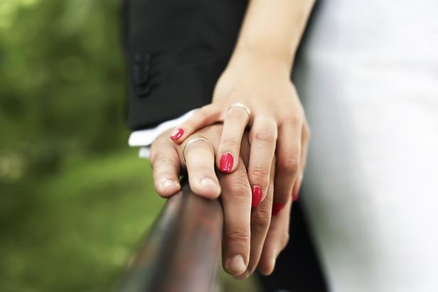 Ehering rechts oder links tragen
