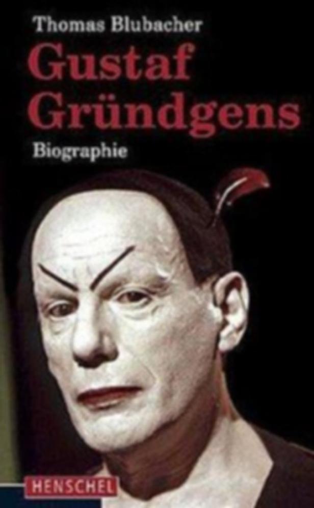 Thomas Blubacher: 'Gustaf Gründgens' Biographie. Henschel Verlag, Leipzig, 432 Seiten.Euro 35,90.