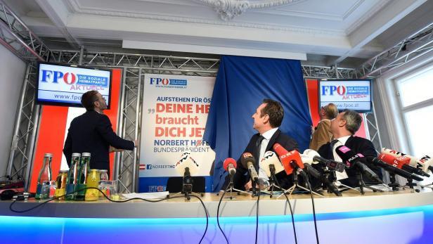 BP-WAHL: PK FPÖ ANL. PRÄSENTATION DES ERSTEN WAHLP