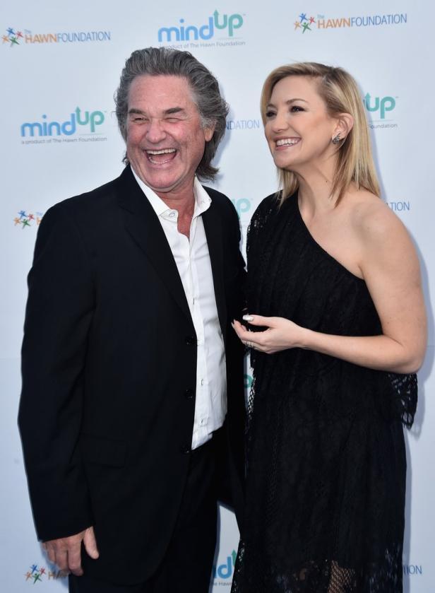 Kurt Russell mit Hawns Tochter Kate Hudson