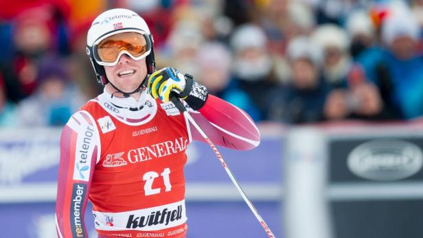 Aleksander Aamodt Kilde führt in der Super-G-Wertung