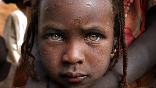 Beim Genozid in Dafur sind Hunderttausende Menschen getötet worden.