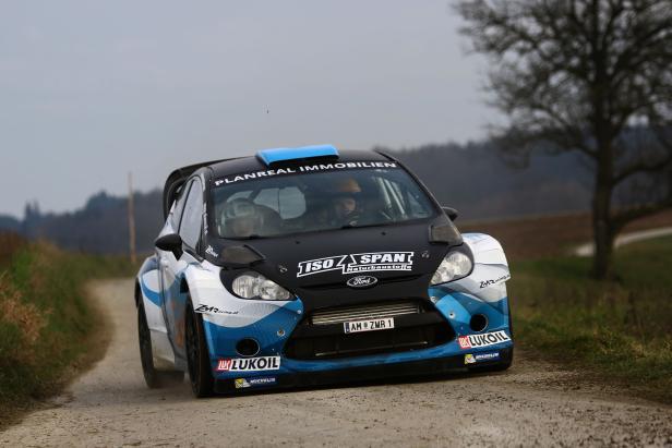Mit dem Ford Fiesta WRC ist Hermann Neubauer heuer der Favorit.