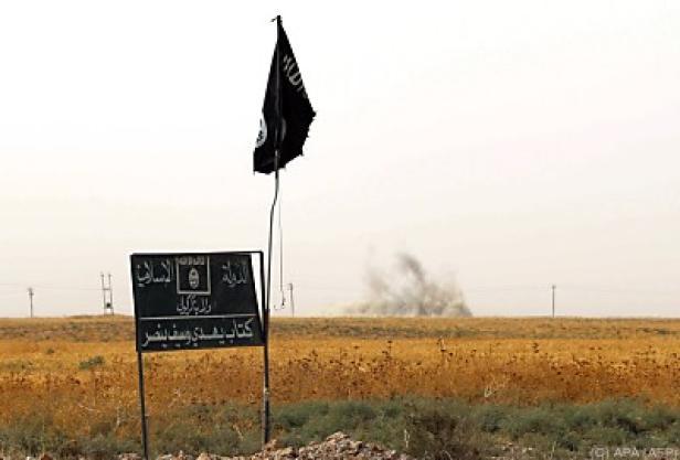 Terrormiliz IS ist auf dem Rückzug