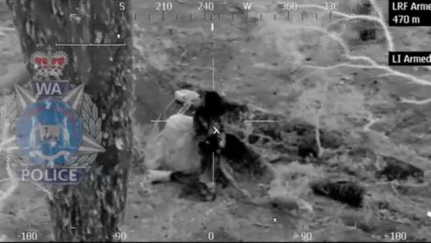 Polizeifoto der Rettungsaktion