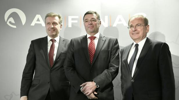 Asfinag-Vorstand Klaus Schierhackl, Leichtfried und Asfinag-Vorstand Alois Schedl