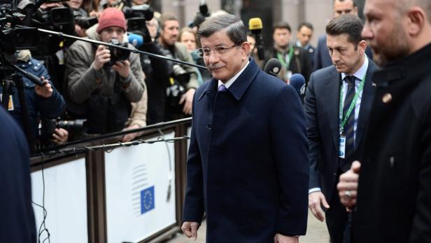 Türkischer Regierungschef Ahmet Davutoglu